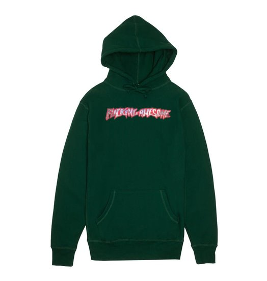 Fucking Awesome Fucking Awesome Extinction Hoodie - Hunter Green