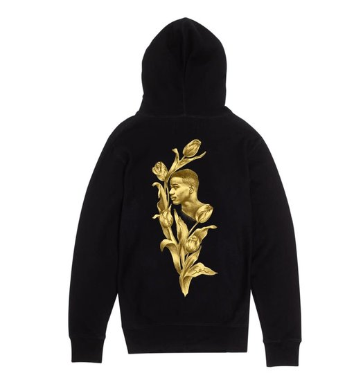 Fucking Awesome Fucking Awesome Flowers Hoodie - Black