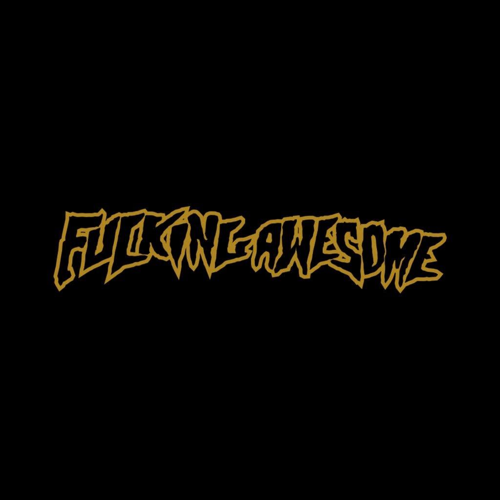 Fucking Awesome Fucking Awesome Flowers Hoodie - Black