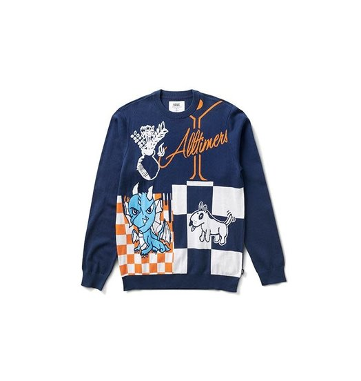 Alltimers Vans X Alltimers Sweater - Dress Blues