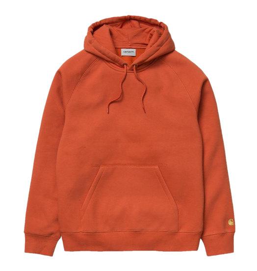 Carhartt WIP Carhartt WIP Chase Hoodie - Brick Orange