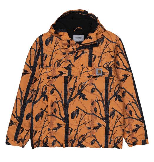 Carhartt WIP Carhartt WIP Nimbus Pullover Jacket - Camo Tree Orange