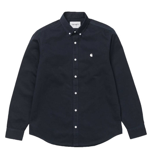 Carhartt WIP Carhartt WIP Madison Shirt - Dark Navy/White