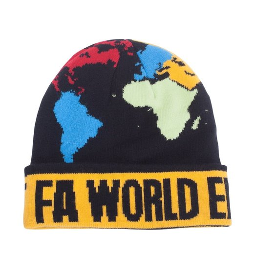 Fucking Awesome Fucking Awesome World Entertainment Beanie - Black