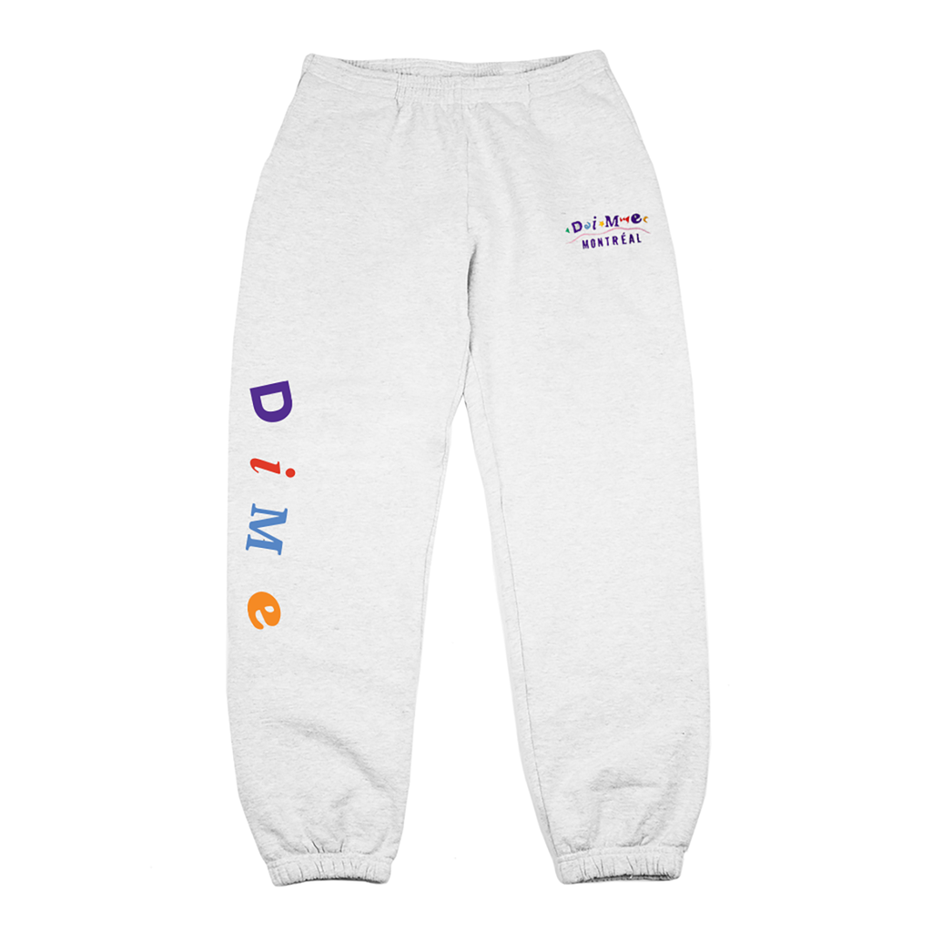 Dime Dime Montreal Embroidered Sweatpants - Ash