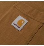 Carhartt WIP Carhartt WIP Pocket Tee - Hamilton Brown
