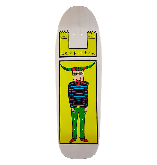 Toy Machine Toy Machine Templeton Bull Man Reissue Deck - 9.5