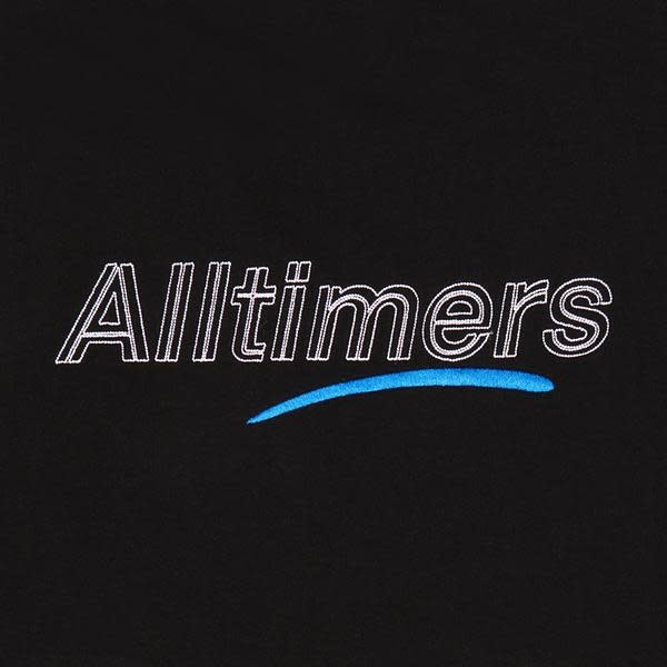 Alltimers Alltimers Dashed Crewneck - Black