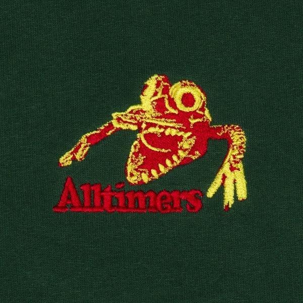 Alltimers Alltimers Monsta Crewneck - Dark Green