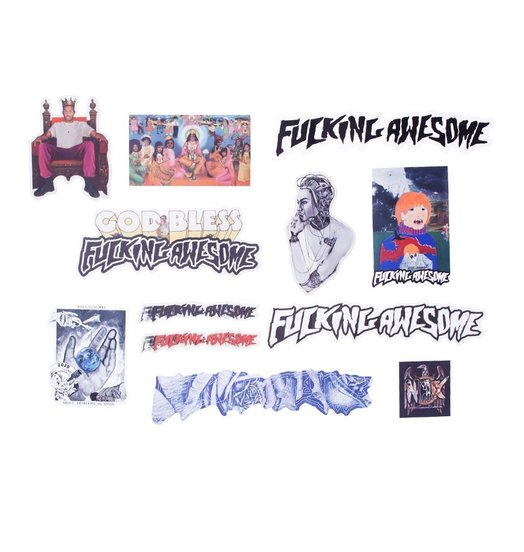 Fucking Awesome Fucking Awesome Sticker Pack 2
