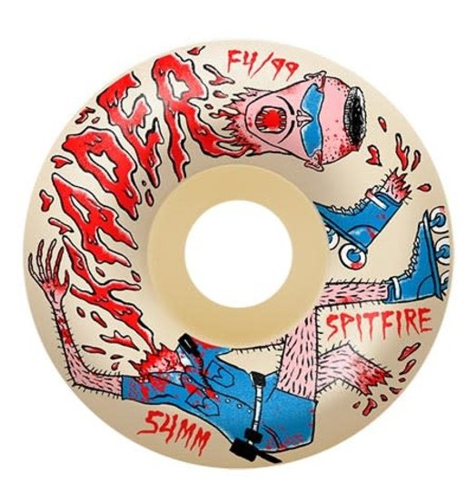 Spitfire Spitfire X Neckface Kader Formula 4 Wheel - Radial 58 99A