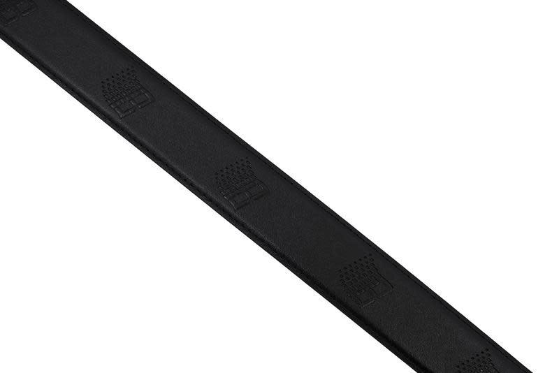 Bronze 56K Bronze 56K B-Logo Leather Belt - Black