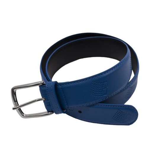 Bronze 56K Bronze 56K B-Logo Leather Belt - Blue