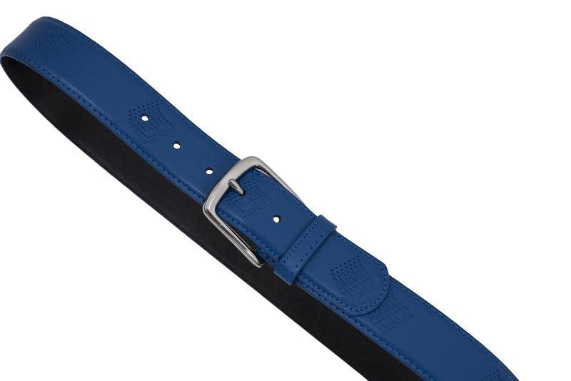 Bronze 56K Bronze 56K B-Logo Leather Belt - Blue