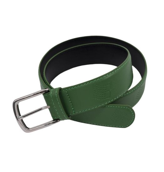 Bronze 56K Bronze 56K B-Logo Leather Belt - Green