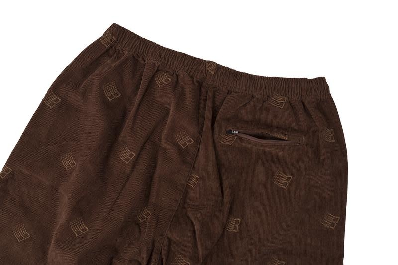 Bronze 56K Bronze 56K Embroidered Synch Cords - Brown