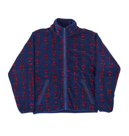 Bronze 56K Bronze 56K Vert Fleece - Navy/Red