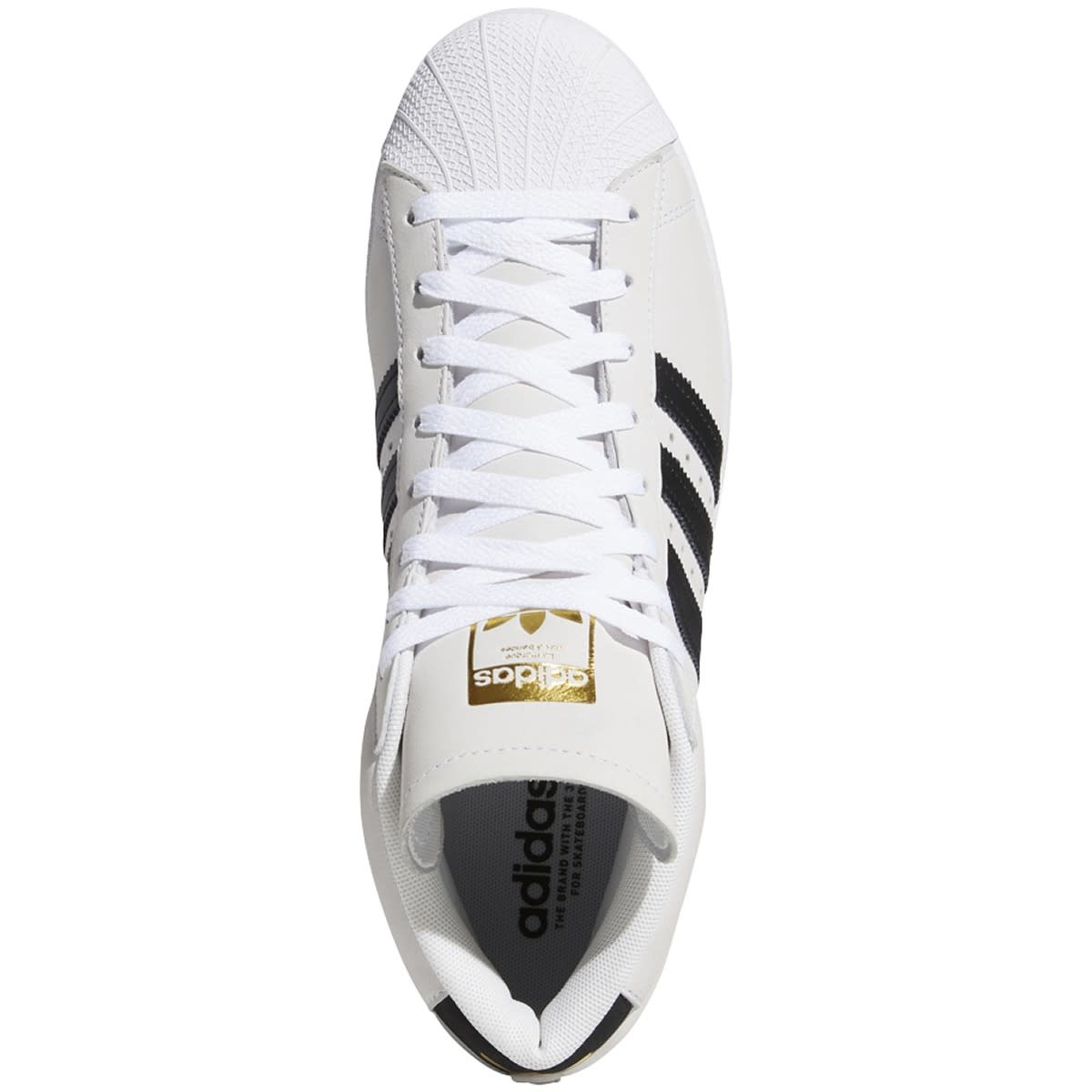 Adidas Adidas Pro Model - White/Black/Gold Metallic