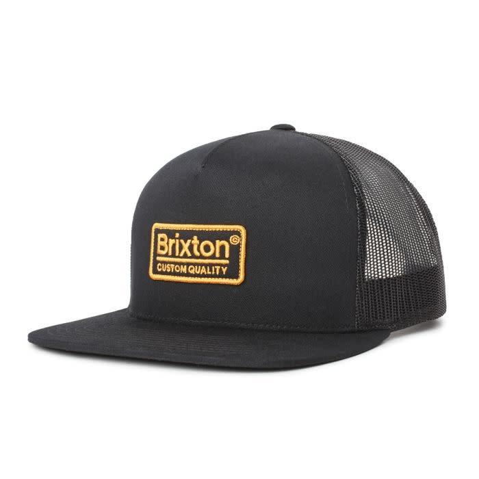 Brixton Brixton Palmer Mesh Cap - Black / Gold