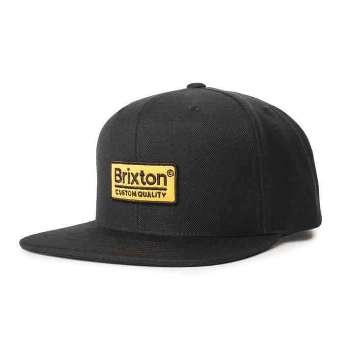 Brixton Brixton Palmer II Snapback - Black/Gold