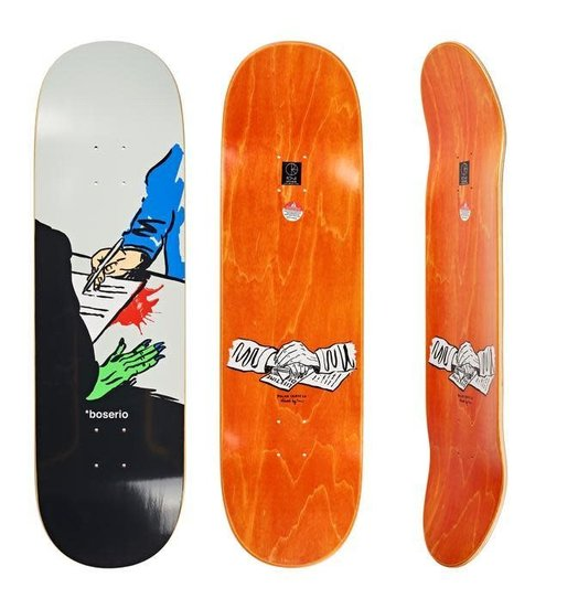 Polar Polar Boserio Lifetime Deal Deck - 9.0