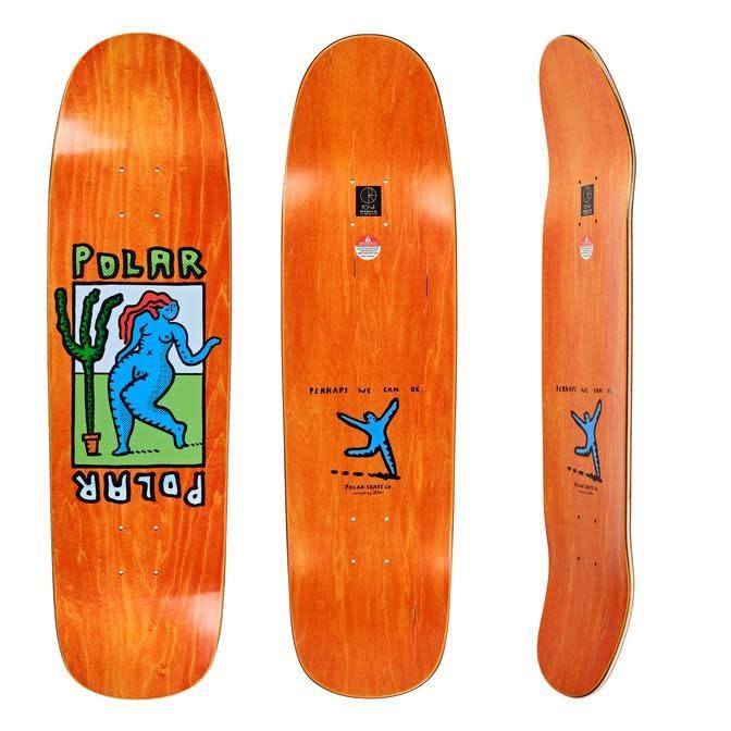 Polar Polar Cactus Dance Deck - P9 8.625