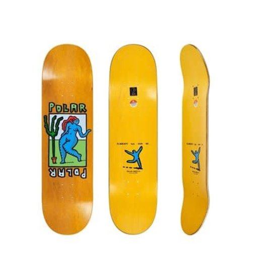 Polar Polar Cactus Dance SLICK Deck - 8.38