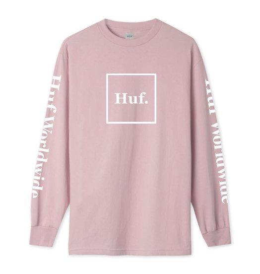 HUF Huf Domestic Longsleeve - Coral Pink