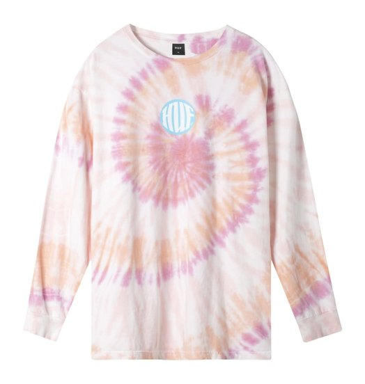 HUF Huf High Definition Longsleeve - Coral Pink