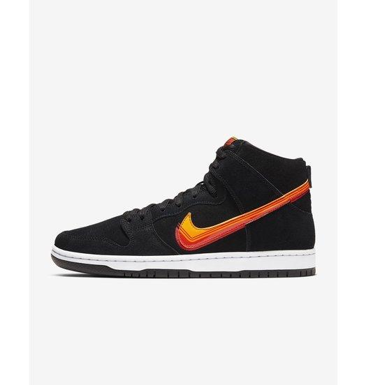 "Nike Nike Dunk High Pro ""Truck It"" - Black/Team Orange/University Red/University Gold"