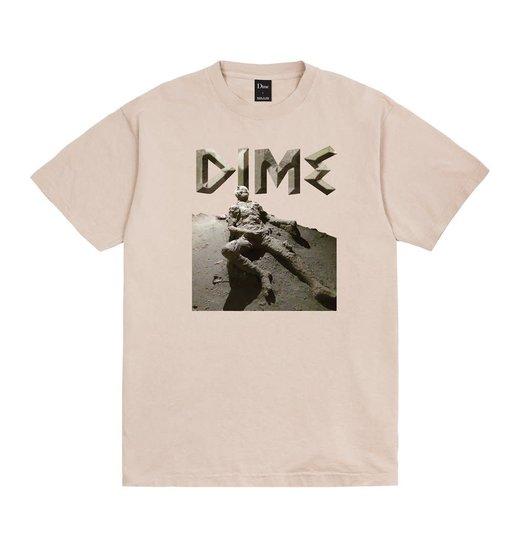 Dime Dime Last Try T-Shirt - Beige