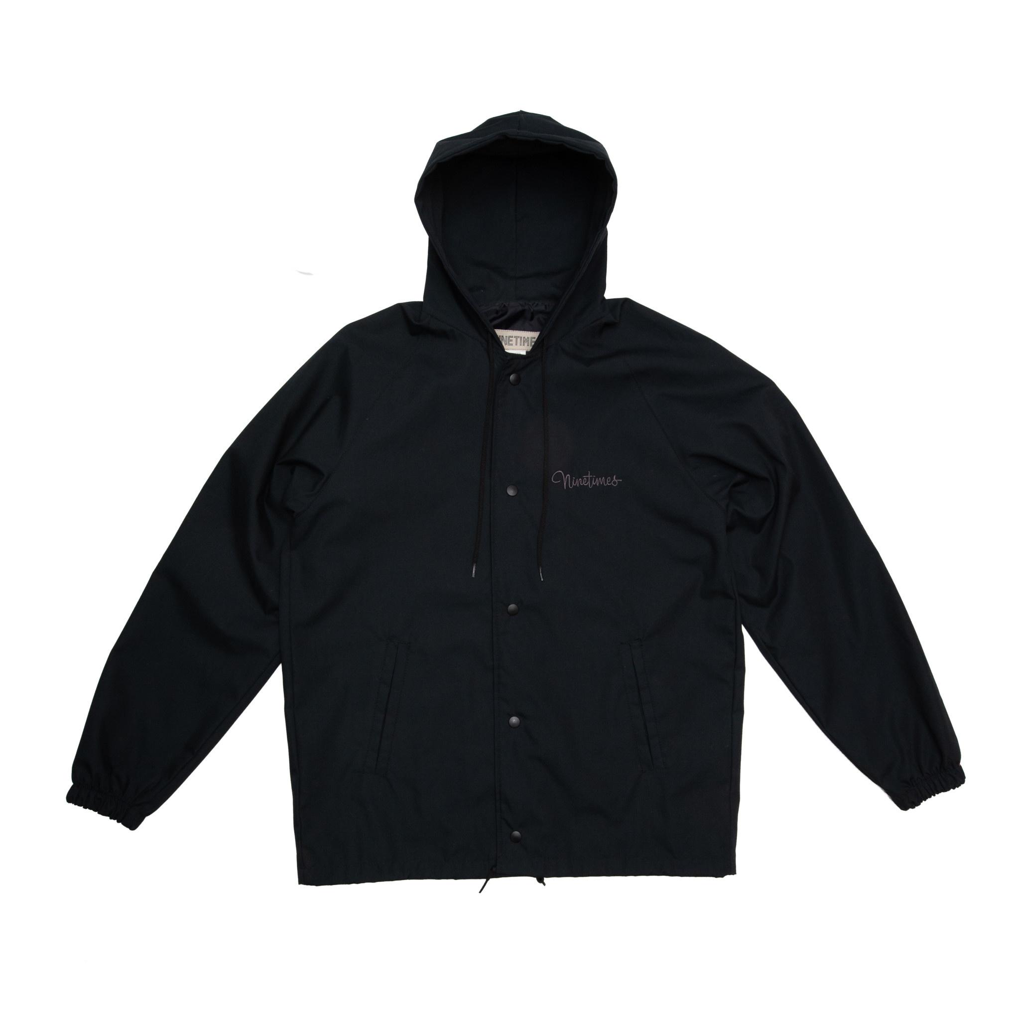 Ninetimes Ninetimes Script Sideliner Jacket - Black