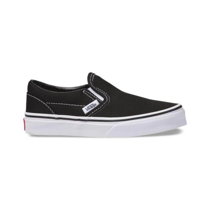 Vans Vans Youth Classic Slip-On - Black/True White