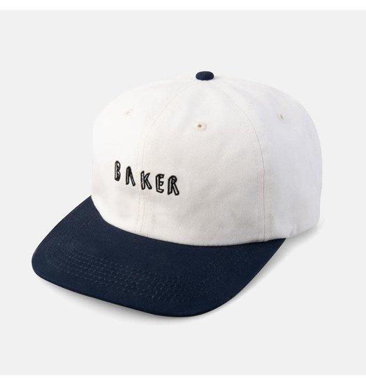 Baker Baker Sloane Snapback - White/Blue