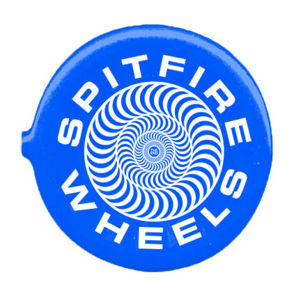 Spitfire Spitfire Classic 87 Swirl Coin Pouch - Royal/White