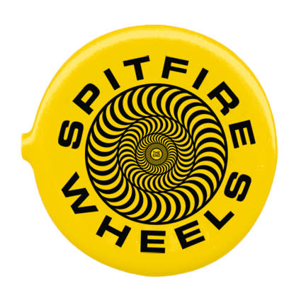 Spitfire Spitfire Classic 87 Swirl Coin Pouch - Yellow/Black