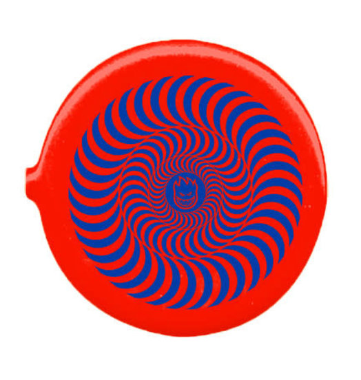 Spitfire Spitfire Bighead Swirl Coin Pouch - Red/Blue