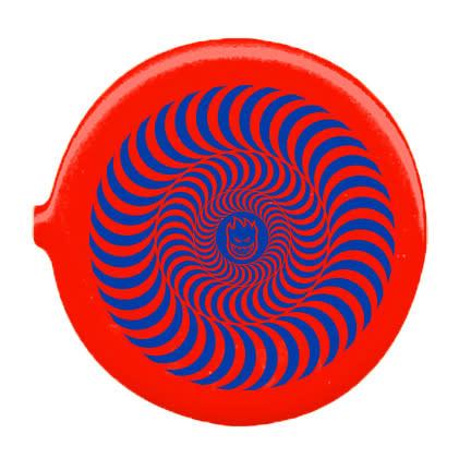 Spitfire Spitfire Bighead Swirl Coin Pouch - Red/Blue