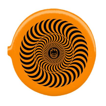 Spitfire Spitfire Bighead Swirl Coin Pouch - Orange/Black