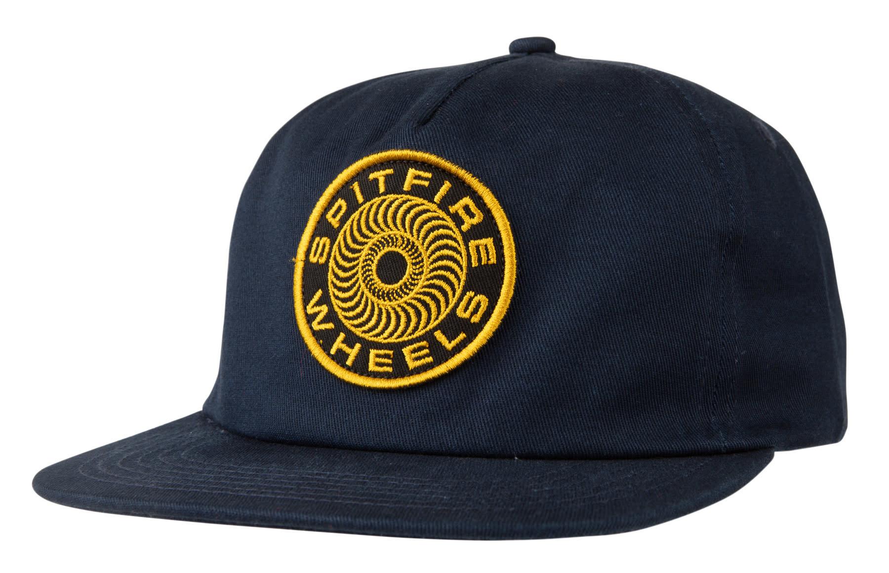 Spitfire Spitfire Classic '87 Swirl Snapback Hat - Navy/Gold
