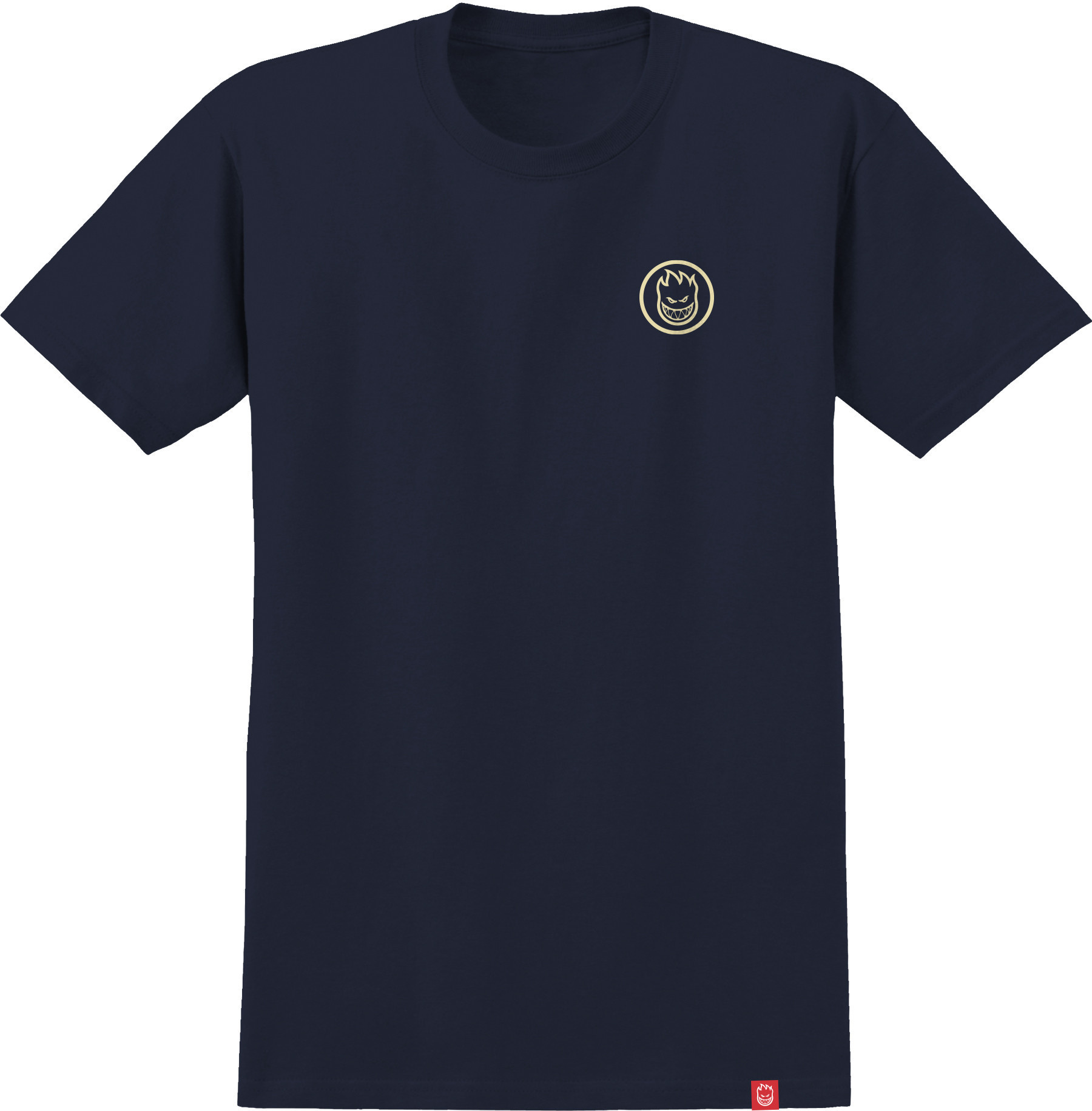 Spitfire Spitfire Classic Swirl Tee - Navy/Raw Discharge