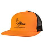 Antihero Antihero Basic Pigeon Trucker Hat - Orange/Black