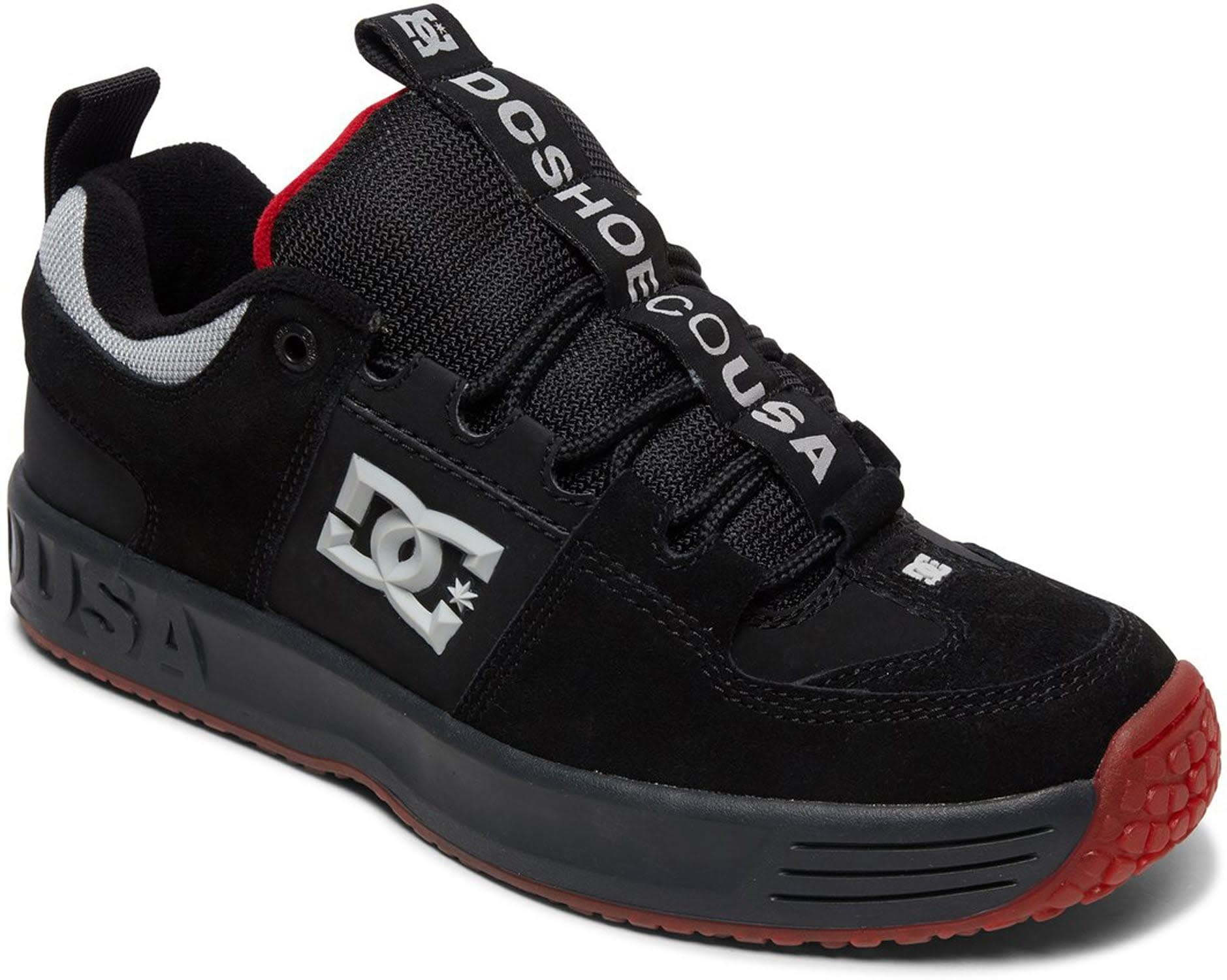 DC DC Darkroom Lynx OG - Black/Dark Grey/Athletic Red
