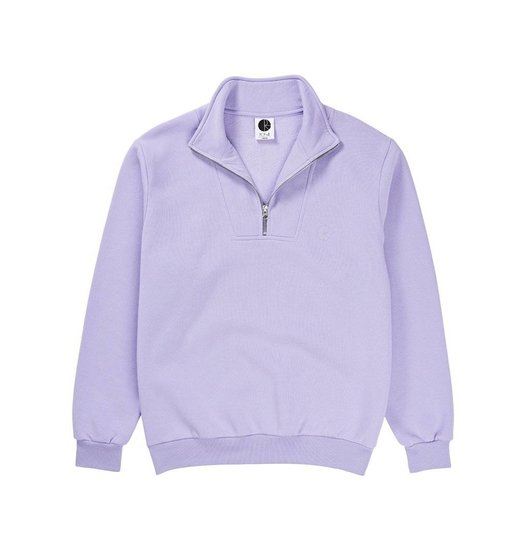 Polar Polar Zip Neck Sweatshirt - Lavender