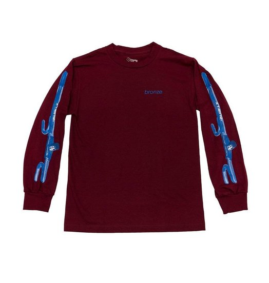 Bronze 56K Bronze The Club Longsleeve - Burgundy
