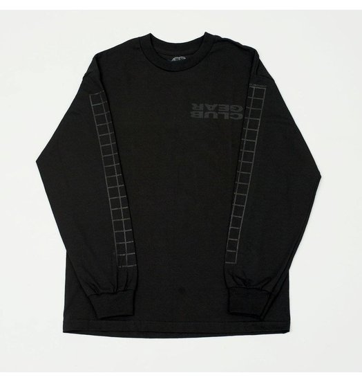 Clubgear Grid Longsleeve - Black/Black