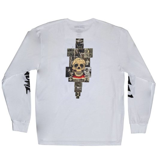 Fucking Awesome Fucking Awesome KB Collage Longsleeve - White