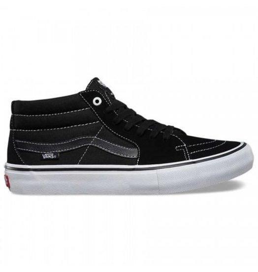 Vans Vans SK8-Mid Pro - Black/Black/White
