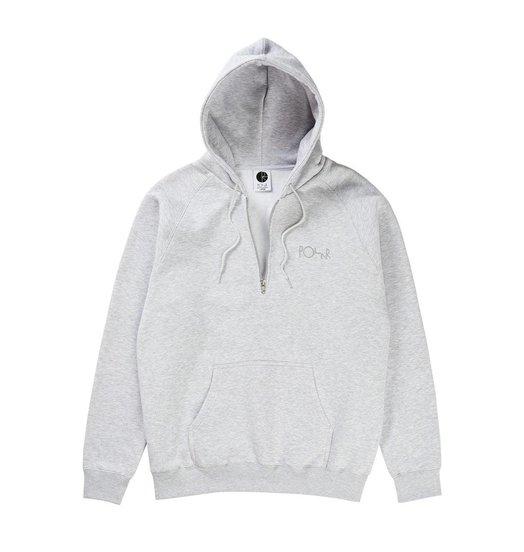 Polar Polar Half Zip Hood - Sport Grey