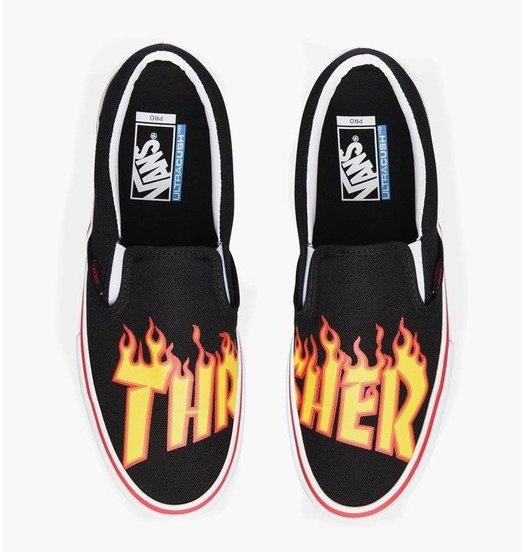 Vans Vans Thrasher Slip On Pro - Black